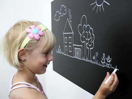 Tafel Für Kinderzimmer | Tafel Folie Im Kinderzimmer Tafelfolie